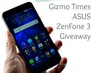 ASUS ZenFone 3 Giveaway by Gizmo Times