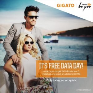 Gigato and Jabong 300x300 - Get 150 MB 3G Data Free for Downloading Gigato and Jabong App