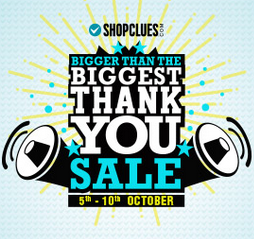 Free Shopping Worth Rs.50 big thank you sale