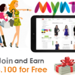 myntra free shopping 150x150 - Get Surprise Lighting Deal Every Hour at Rs.1 : Amazon App Treasure Hunt Clue's Answers