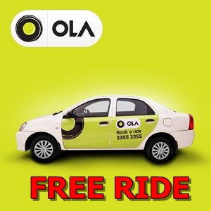 ola cabs free ride offer - Get Free Ola Cab Voucher Worth Of Upto 200