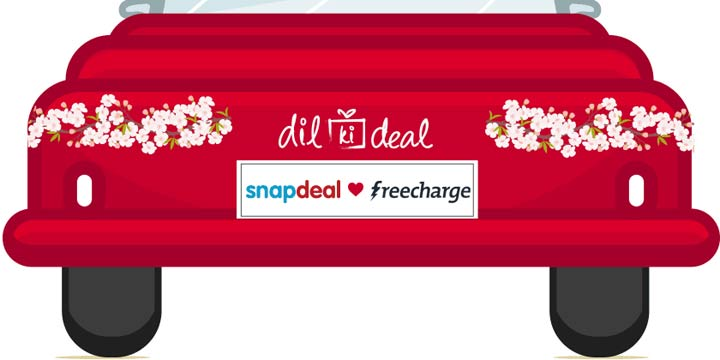 snapdeal freecharge - Shop for Rs.500 on SnapDeal and Get Rs.400 Freecharge Cashback+Rs.100 Snapdeal Voucher