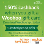 woohoo signup gift promotion 150x150 - Recharge for Rs 50 and get Cashback of Rs 50 on Freecharge via Vantage Circle