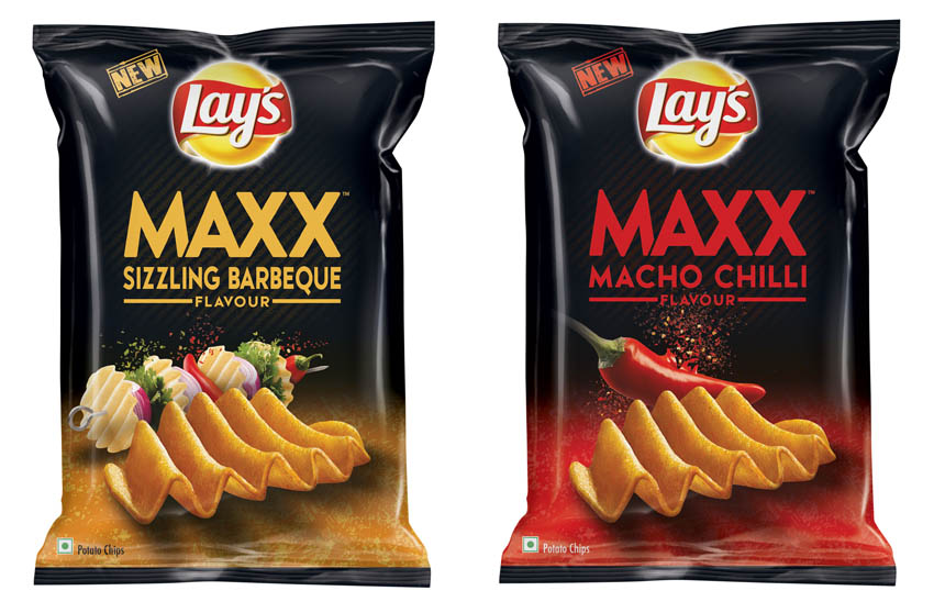 Lay's Maxx Macho Chilli & Sizzling Barbeque (30gm Packs) for just Rs.9 (Free Shipping) [OOS]