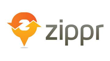 Zippr_logo free t-shirt