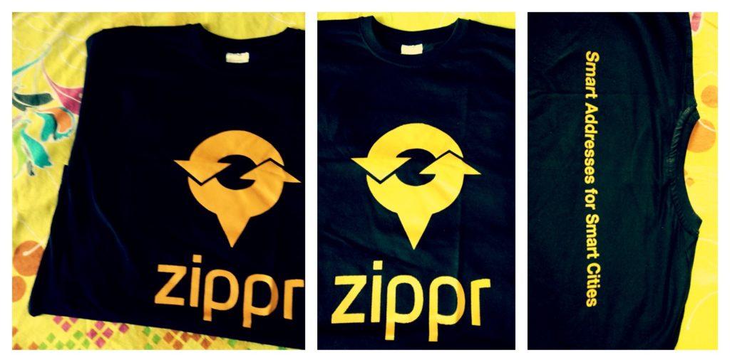 get free zippr t-shirt
