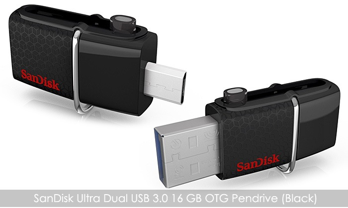 Buy SanDisk Ultra Dual 16 GB USB 3.0 OTG Pen Drive for Rs. 345 Only