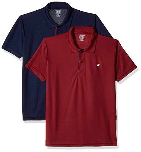 Fort Collins Men's Polyester T-Shirt Pack Of 2 In Just Rs.249