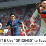 FIFA 16 at 46% off from Origin for Rs 1633 only