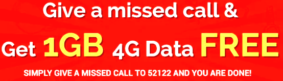 FREE 1GB 4G Data in Airtel boost - FREE 1GB 4G Data in Airtel