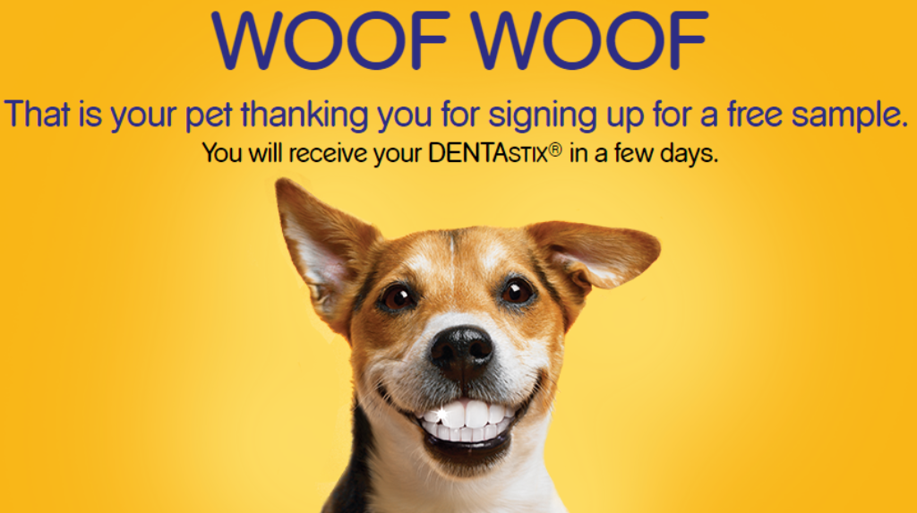 Free Pedigree - DENTASTIX - Daily Oral Care Sample