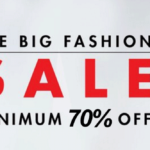 The big fashion sale at amazon up to 90 off fashion loot deals 150x150 - Football Balls Flat 50% Off or More at Amazon