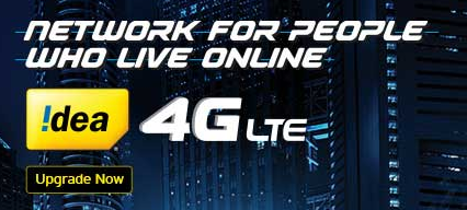 Get FREE 1GB 4G data for 5 days in Idea Mobile