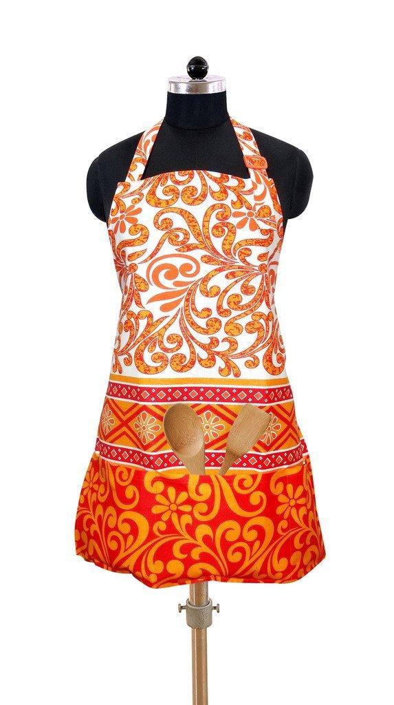 Swayam Shades of India Digitally Printed Cotton Apron – Multicolour at 74% Off