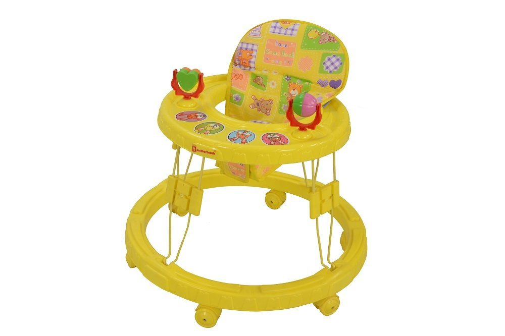 Get 35% off on Mothertouch Chikoo Round Walker (Yellow)