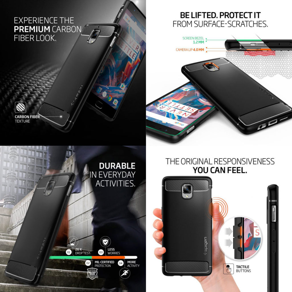 Best OnePlus 3 Cases & Covers Online Spigen