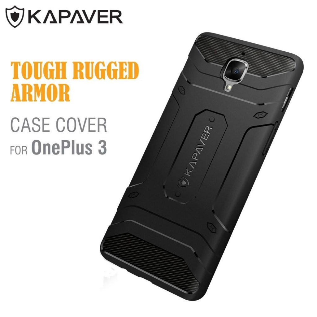 Best OnePlus 3 Spigen Case Alternative by KAPAVER