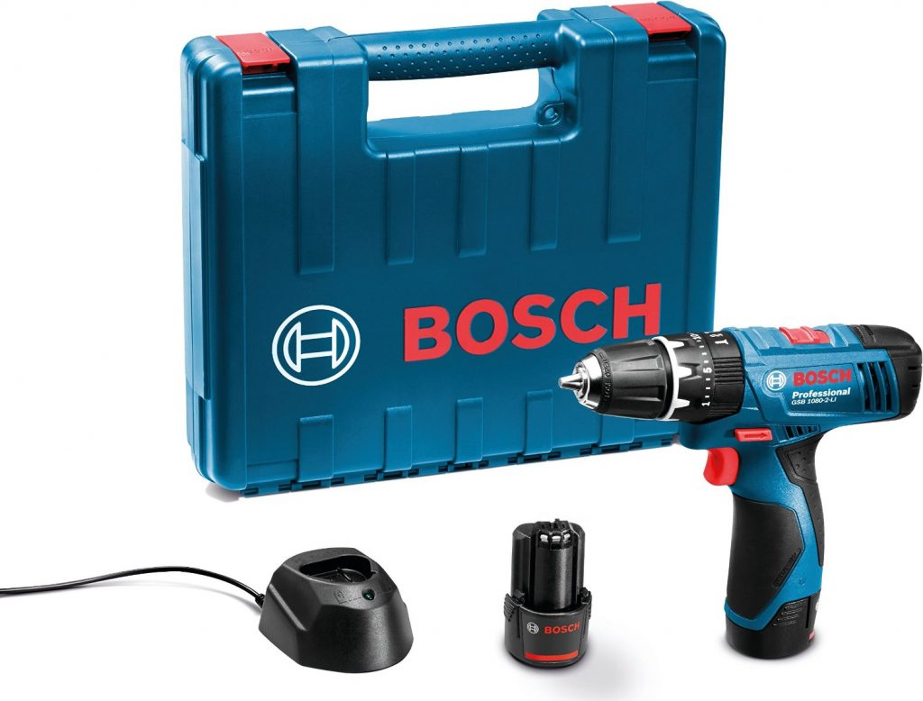 Bosch Li Cordless Drill (Blue) for Rs 5299 (62% off)