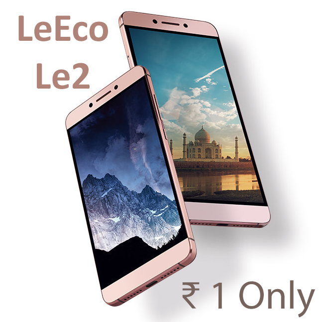 Buy LeEco Le 2 for Rs 1 from LeMall (First 200 orders)