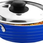 CookAid Stainless Steel with Lid Kadhai 1.2 L 150x150 - Secret Letters from the Monk Who Sold His Ferrari for Rs 50 (95% off)