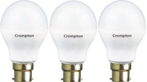 Crompton 7WDF B22 7 Watt LED Lamp 300x168 - Crompton 7-Watt LED Lamp for Rs 360 (68% off)