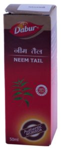 Roll over image to zoom in Dabur Neem Ka Tail - 50 ml for Rs 40 (30% off)