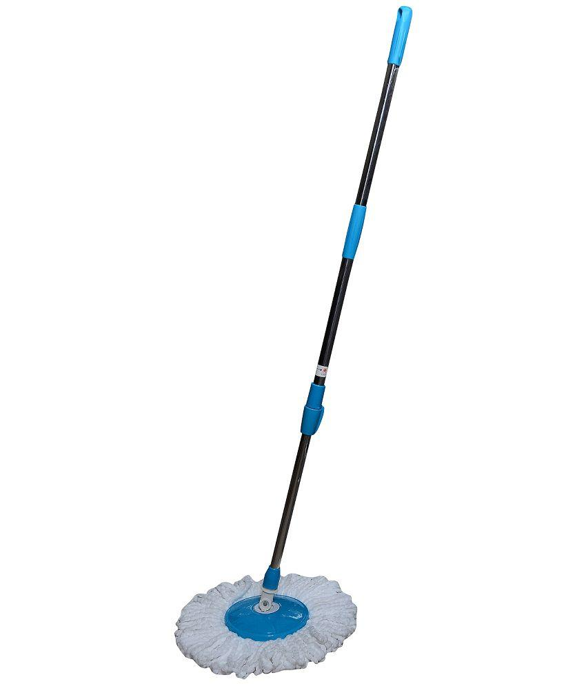 El Sandlo Black And Blue Mop Head And Stick for Rs 217 (86% off)
