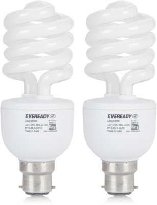 Eveready 23 W CFL Combo Pack Bulb for Rs 249 (52% off)
