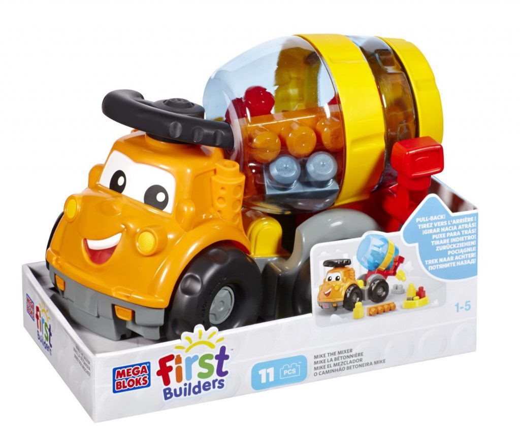 Fisher Price First Builders Mega Bloks First Builders Mike the Mixer, Multi Color for Rs 999 (57% off)