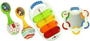 Fisher Price Musical 3 Pack Combo Gift Pack White 300x137 - Fisher-Price Musical 3 Pack Combo Gift Pack - White for Rs 1,061 (41% off)