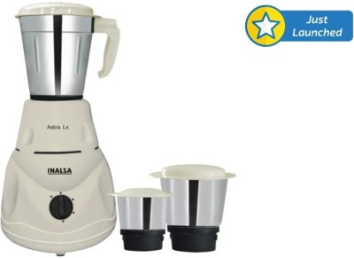 Inalsa Astra LX 550 W Mixer Grinder for Rs 1499 (62% off)