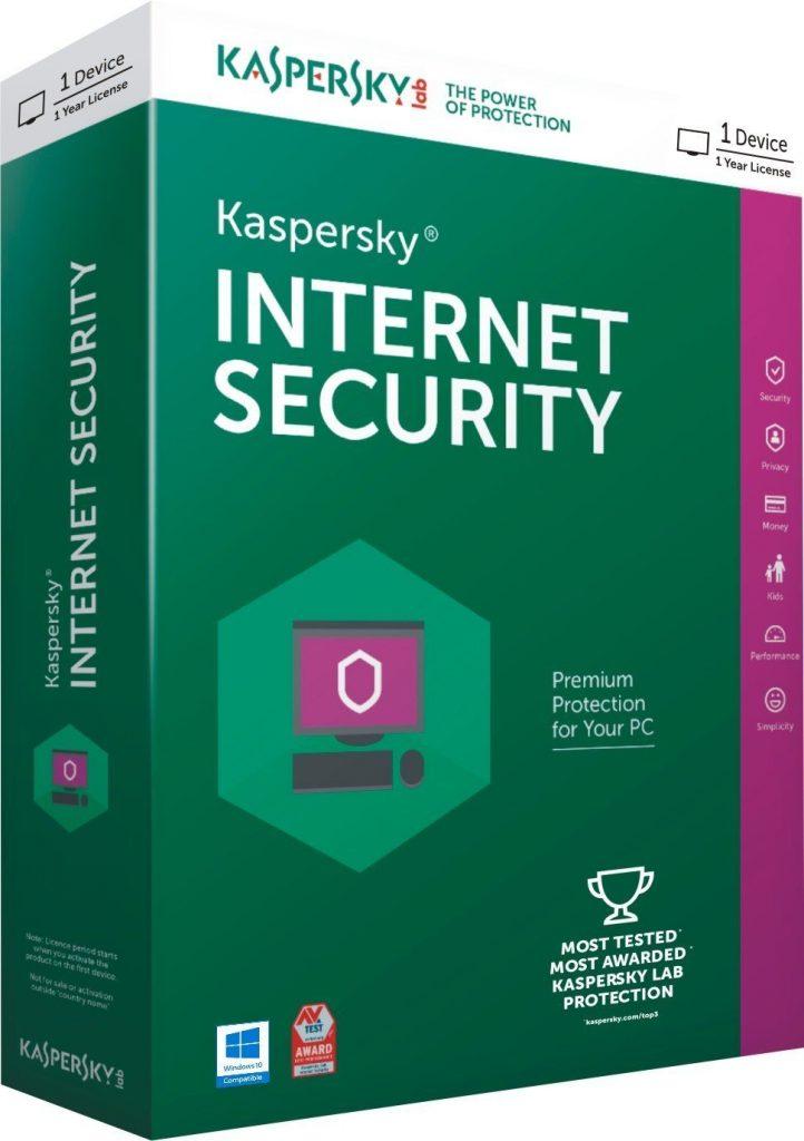 Kaspersky Internet Security 2016 for Rs 11 at eBay