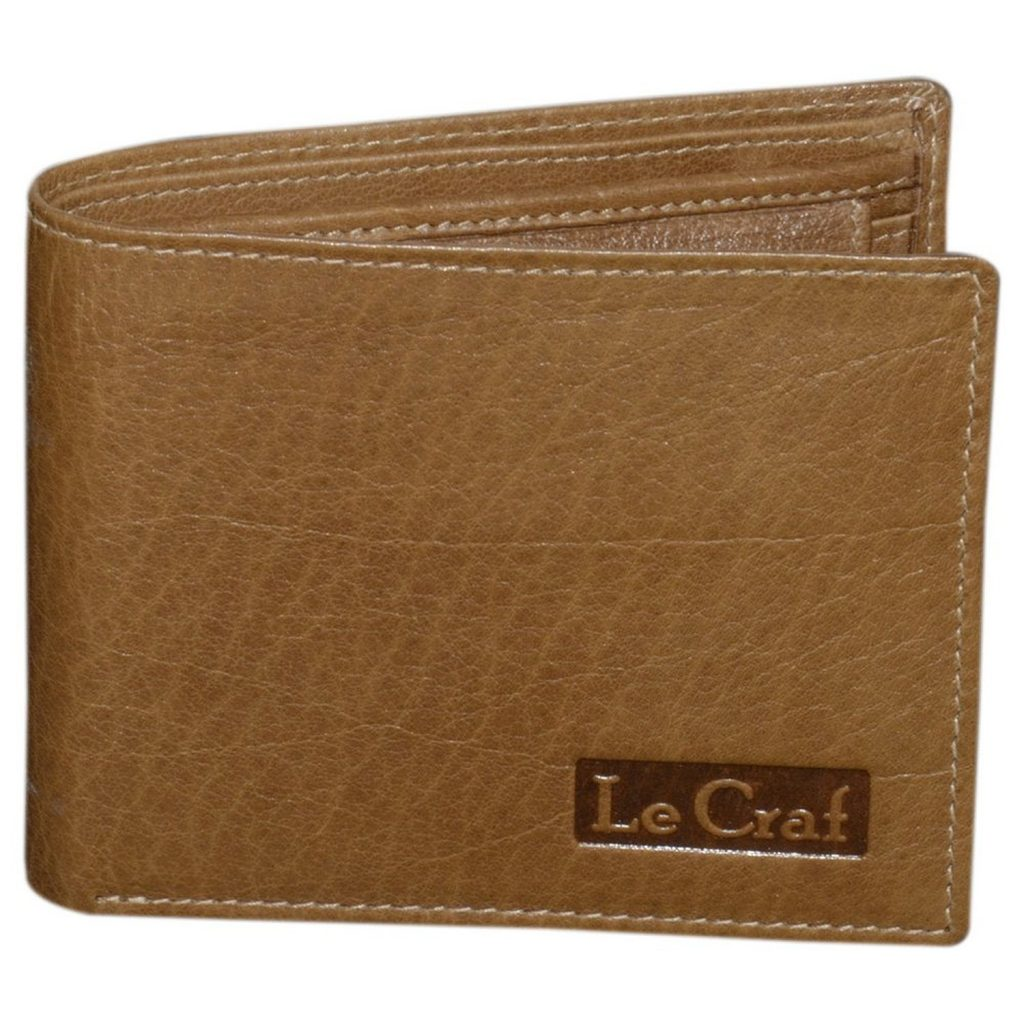 Le Craf Aaron Brown Men's Leather Wallet for Rs 454 (77% off)