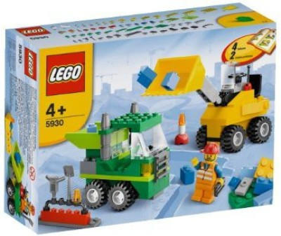 Lego Road Construction Building Set for Rs 3288 (56% off)