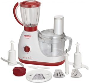 Maharaja Whiteline Fiesta FP-103 600-Watt Food Processor