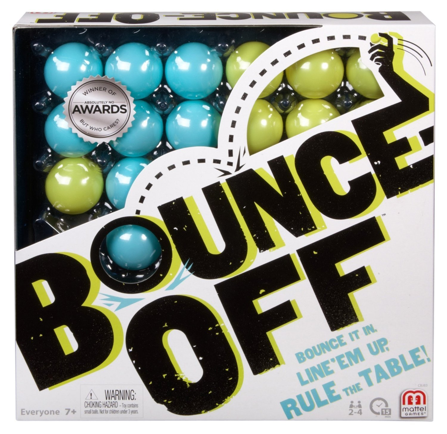 Mattel Bounce Off Game, Multi Color for Rs 640 (29% off)