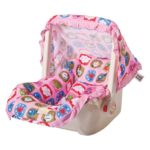 Mee Mee Cozy Carry Cot Cum Rocker 5 - in - 1 (Pink)