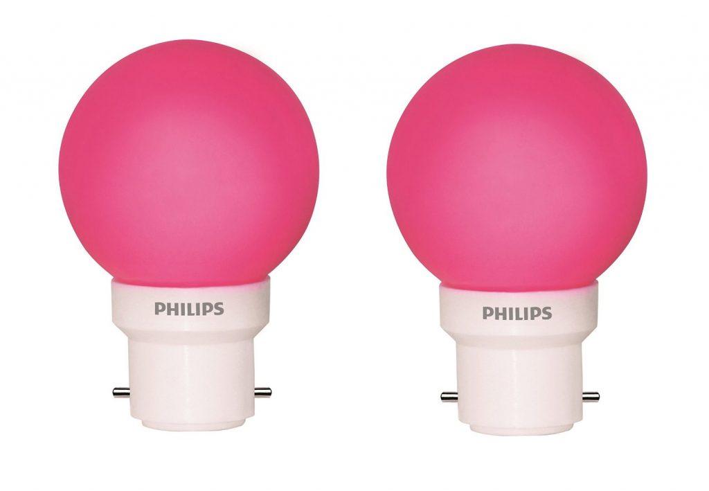 Philips Deco Mini 0.5-Watt B22 Base LED Bulb (Pack of 2) for Rs 145 (40% off)