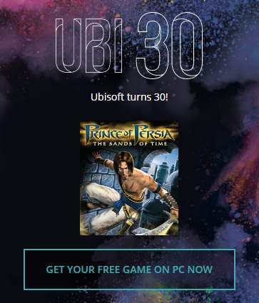 Prince of Persia The Sands of Time PC Digital Download for FREE by Club.UBI .com Ubisoft Club - Prince of Persia: The Sands of Time (PC Digital Download) for FREE by Club.UBI.com