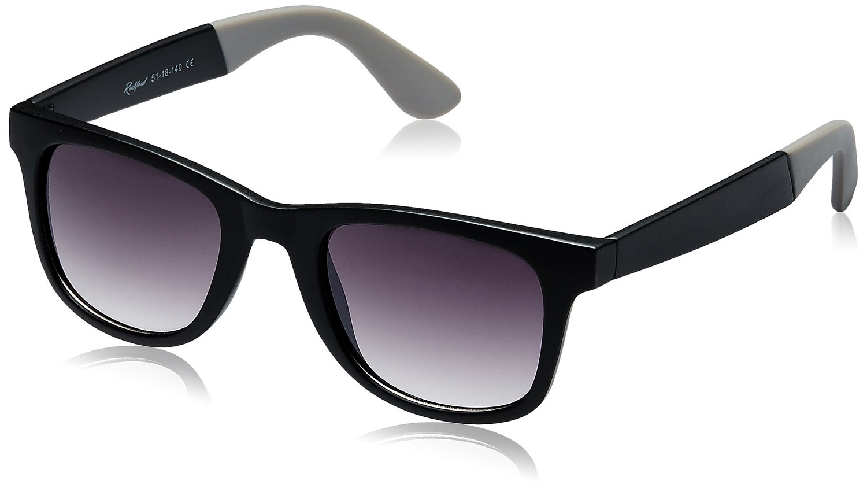 Rockford Wayfarer Sunglasses (Matte Black and Grey) (RF-071-C5) for Rs 299 (85% Off)