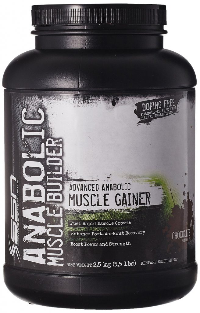 SSN Anabolic muscle builder-5.5lbs-chocolate for Rs 2,392 (33% off)