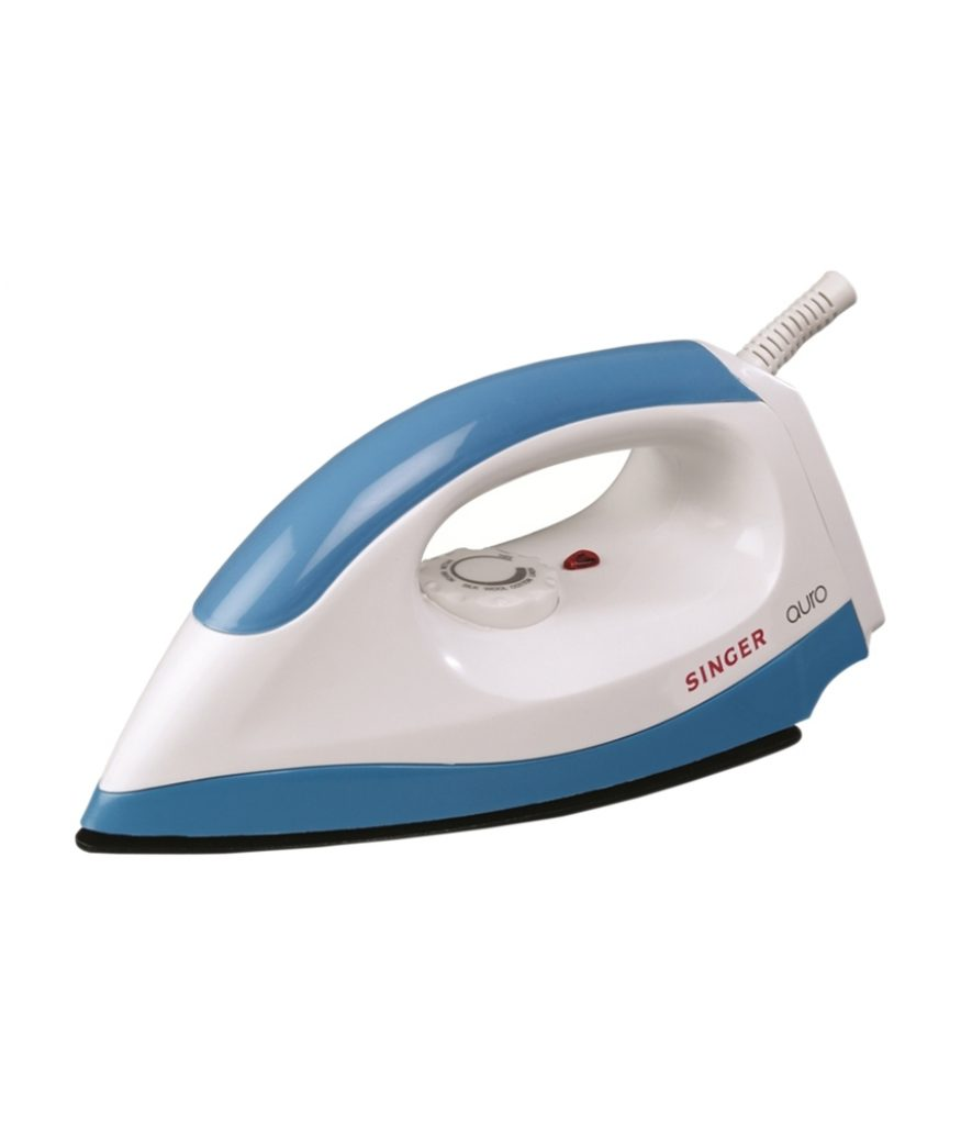 Singer Auro Dry Iron Blue for Rs 395 (54% off)