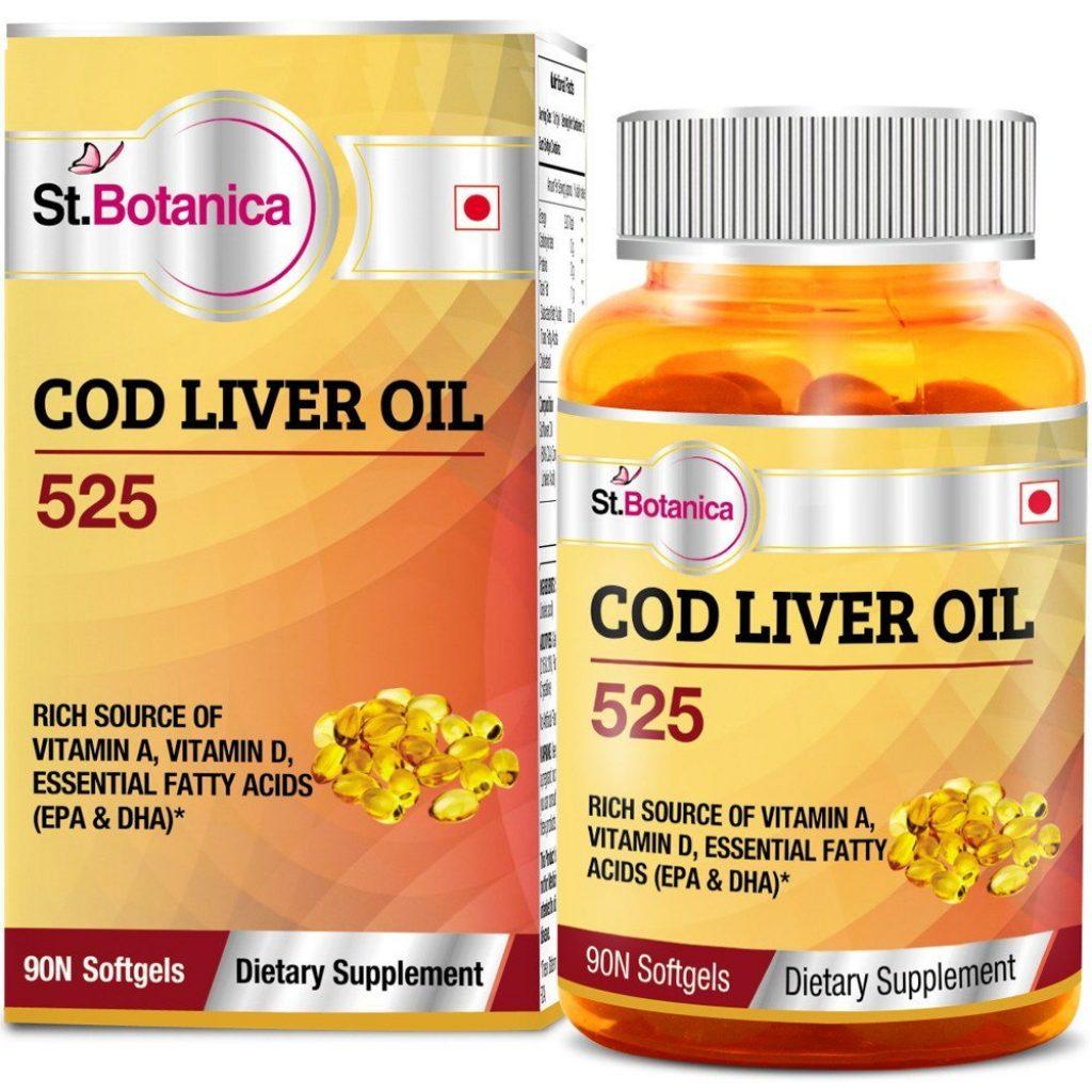 St.Botanica COD Liver Oil 525 – 90 Softgels for Rs 599 (48% off)