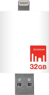 Strontium Nitro iDrive 3.0 OTG Pendrive for iOS 32 GB Utility Pendrive for Rs 1999 (67% off)