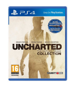 Uncharted The Nathan Drake Collection for PS4 256x300 - Uncharted - The Nathan Drake Collection for PS4 for Rs 2379 (41% off)
