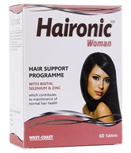 West Coast Haironic Hair Management Formula for Woman 60 Tablets