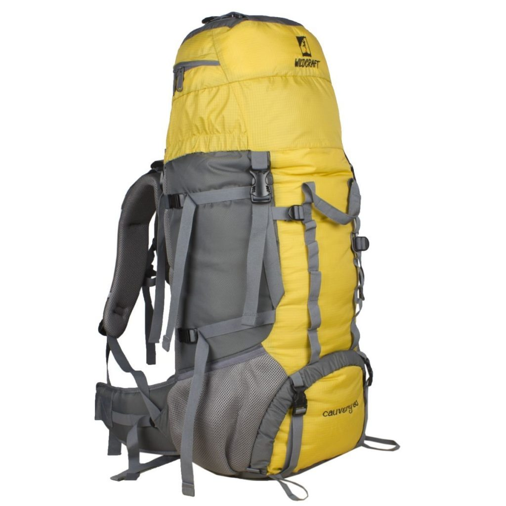 Wildcraft Cauvery 60 Ltrs Yellow Rucksack for Rs 3,351 (45% off)