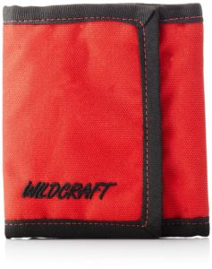Wildcraft Men's Chrome Tri-fold Red Wallet