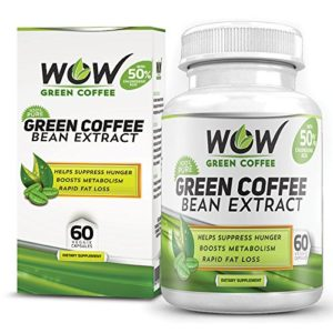 Wow Green Coffee Weight Management Supplement with 800 mg GCA 60 Capsules Pack of 1 300x300 - Wow Green Coffee Weight Management Supplement with 800 mg GCA - 60 Capsules (Pack of 1) for Rs 999 (67% off)