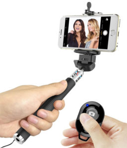 Xtra Selfie Stick ACE with Bluetooth Remote